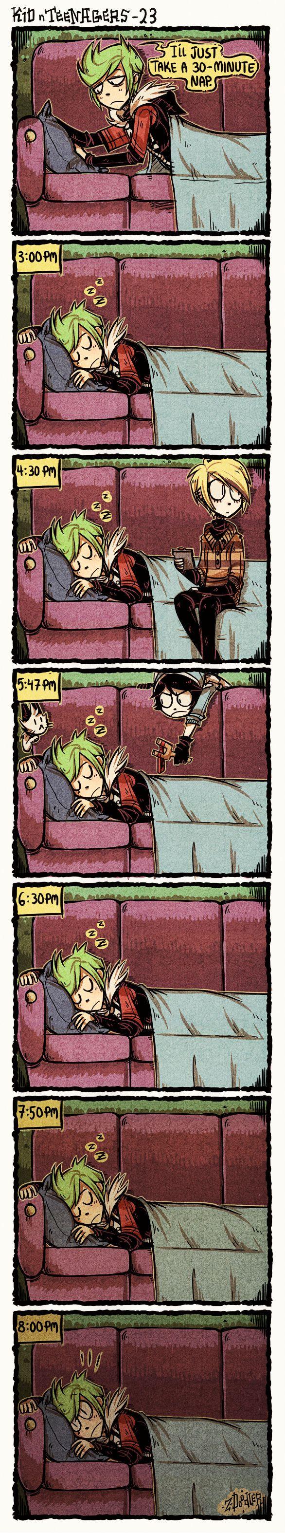 +KnT : Naps+ by Z-Doodler.deviantart.com on @DeviantArt