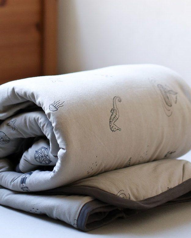 Toddler comforter Linen children Blanket Modern children blanket Organic dye Toddler blanket Toddler comforter Bedding toddler by NdotoTextile on Etsy