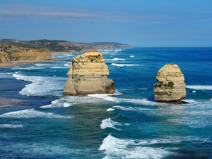 Apostles in Port Campbell, great ocean road. What an amazing creation of nature. http://www.ozehols.com.au/blog/victoria/trip-to-see-the-apostles-during-great-ocean-road-holidays/ #apostles #greatoceanroad