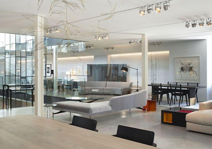 lovely furniture showroom interior design ideas avenue road by yabu pushelberg sai