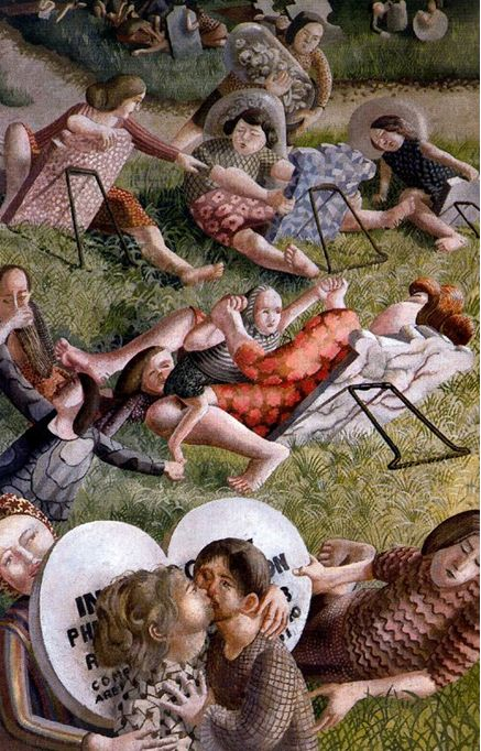 Stanley Spencer: The Resurrection, Reunion 3, 1945.