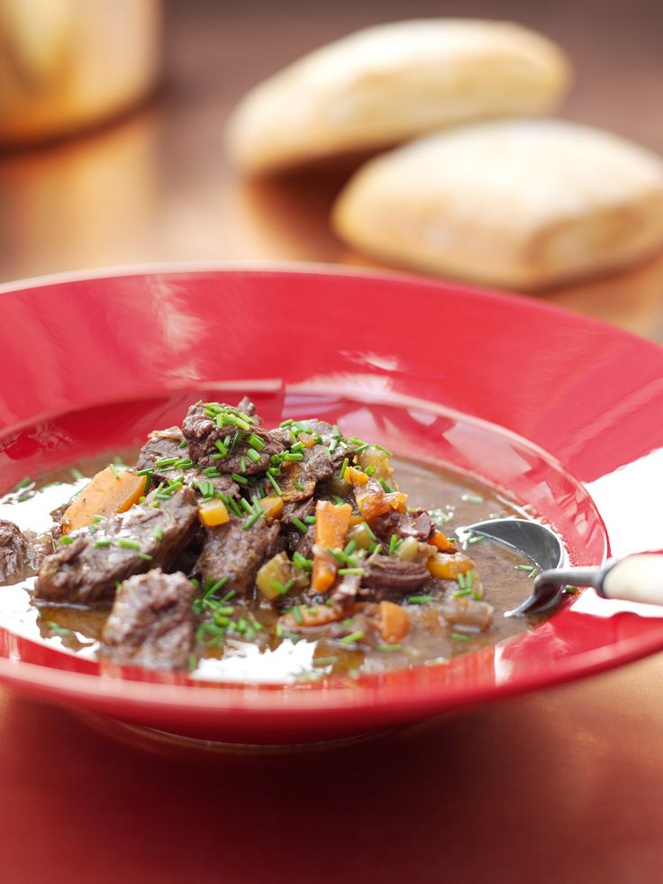 Beef Stew With Anchovies and Thyme