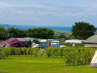 Touring and camping pitches