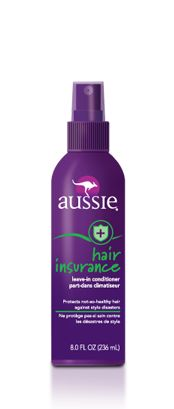 Aussie Hair Insurance leave-in conditioner spray