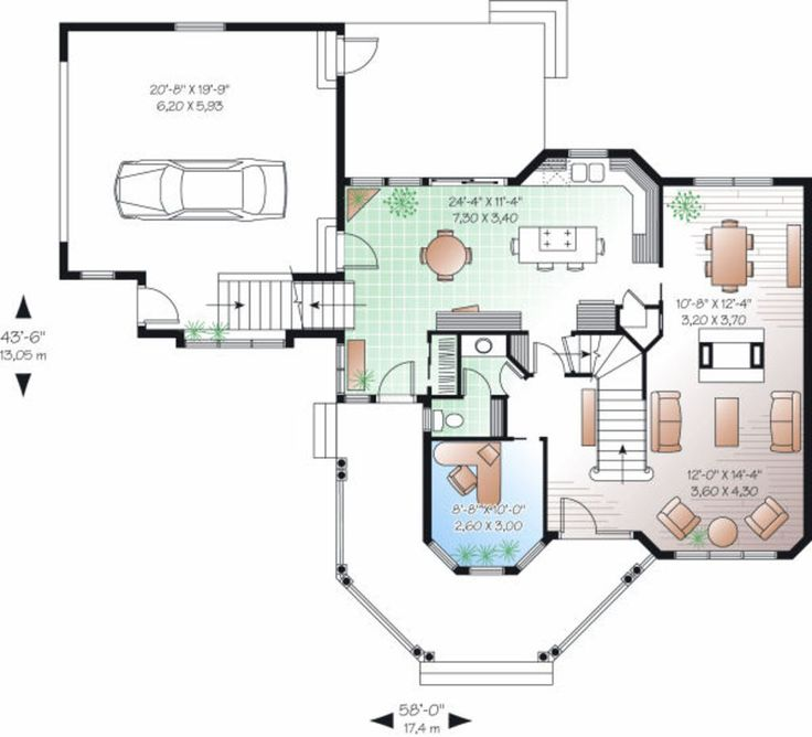 23 best Maison Plans images on Pinterest House blueprints