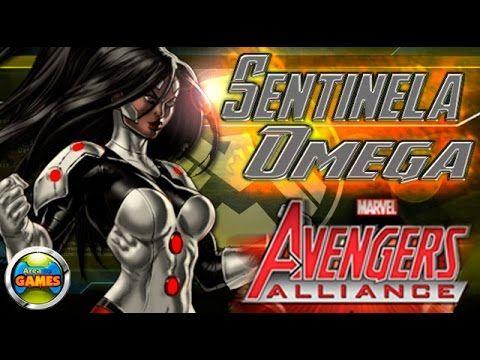 Sentinela Omega Todos os Ataques Marvel Avengers Alliance
