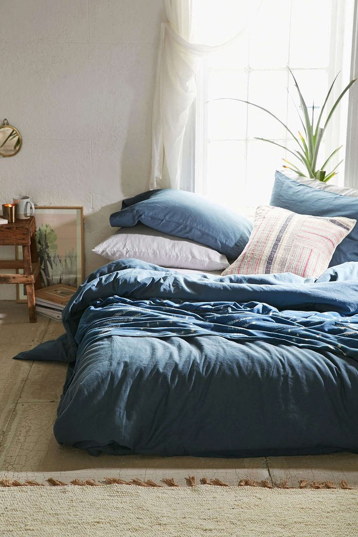 Assembly Home Linen Blend Duvet Cover