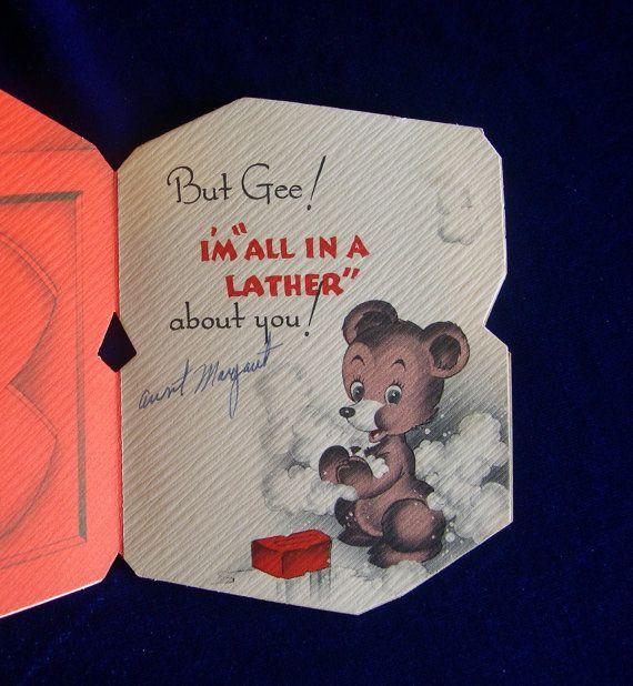 valentine card dog