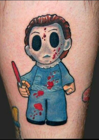 165 best horrors movies tattoos ideas images on pinterest for Michael myers tattoo