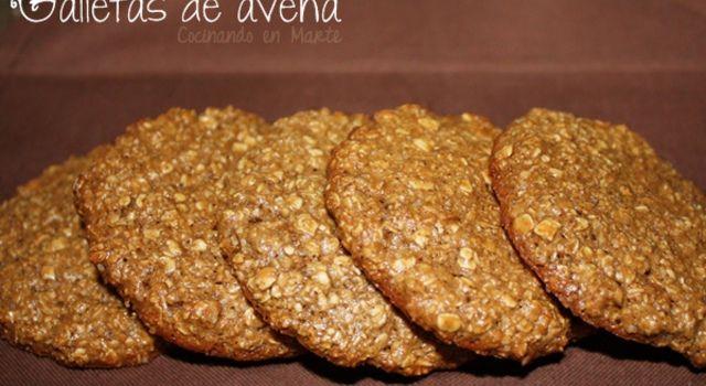 Galletas de avena (sin mantequilla)