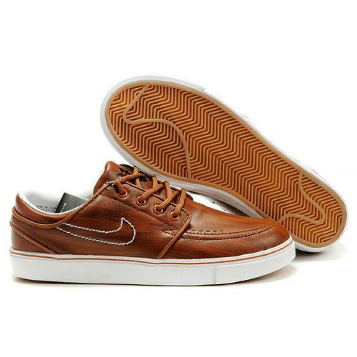 Brown Stefan Janoski Shoes