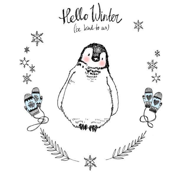 marieke ten berge: hello winter