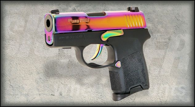 LOVE this Sig Sauer P290RS Rainbow, 9mm sub-compact pistol!!! $613
