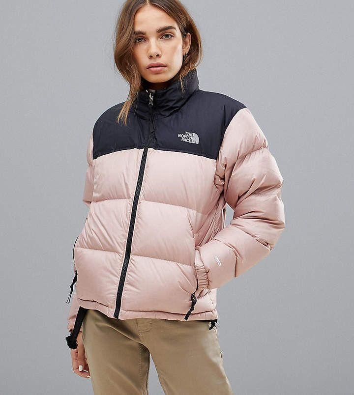 The North Face Womens 1996 Retro Nuptse Jacket In Pink Pink North Face Jacket North Face Women North Face Womens Coat