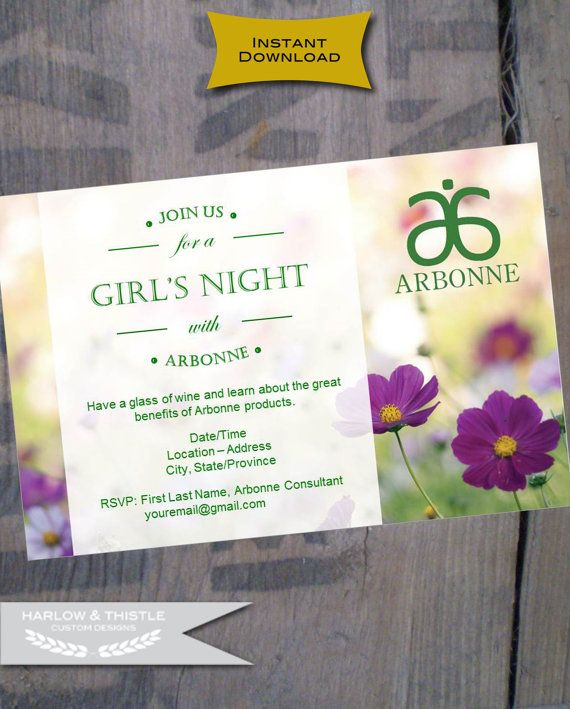 Best 25 arbonne party ideas on pinterest arbonne products instant download printable arbonne party by harlowandthistle stopboris Choice Image