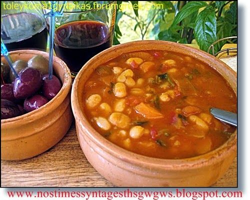 Greek fasolada (bean soup) | deliciousrecipesofgogo