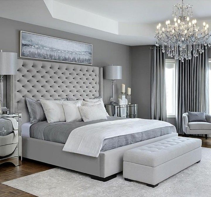 Gorgeous Tufted Headboard That Makes A Dramatic Statement Great