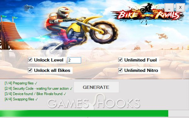 Bike Rivals Hack (Mediafire) | Games Hooks
