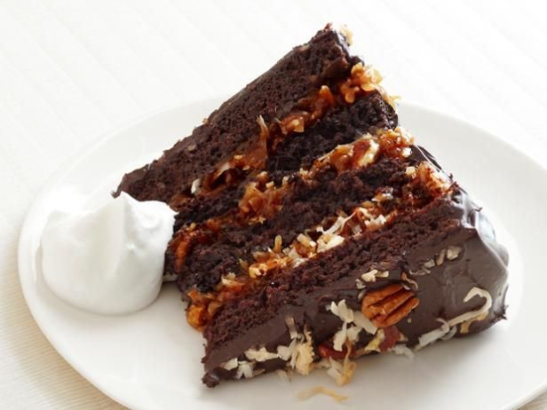 Try Bobby's German Chocolate Cake with Coconut-Pecan Cajeta Frosting at your next birthday bash: Fun Recipes, Bobby Flay, Frostings Recipes, Cajeta Frostings, German Chocolate Cakes, Coconutpecan Cajeta, Coconut Pecans Cajeta, Chocolates Cakes Recipes, German Chocolates Cakes