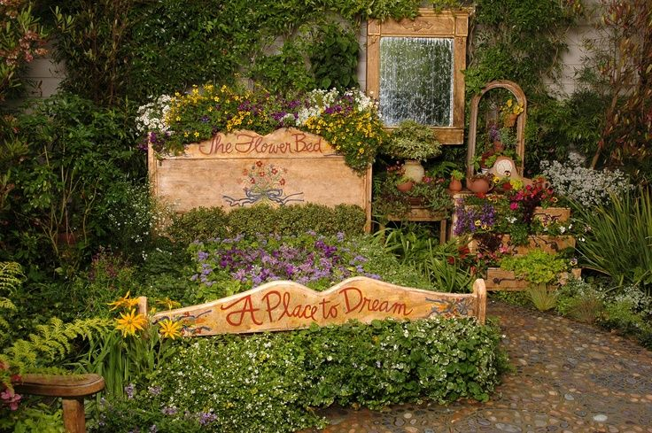Уголок мой любимый сад pinterest
