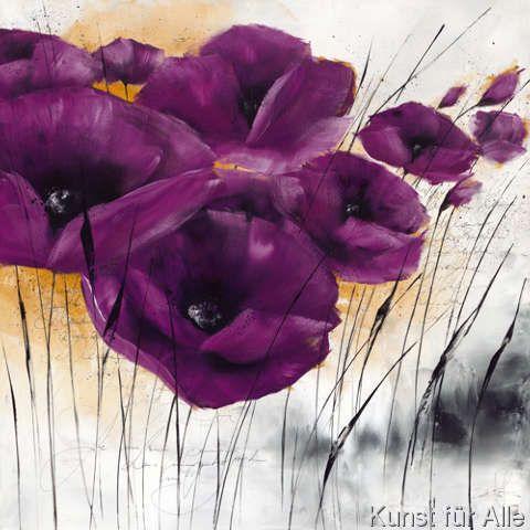 Isabelle Zacher-Finet - Pavot violet IV