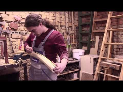 Výroba fujary - Making fujara - YouTube