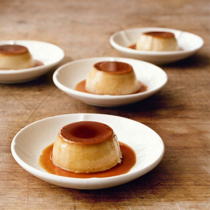 Here's how to make Simon Hopkinson's coffee caramel custard. Yummy.