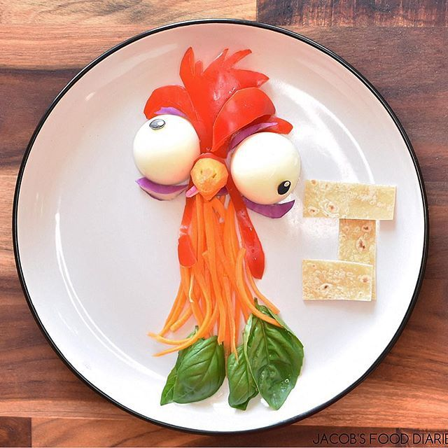 HEI HEI from MOANA  Organic eggs with salad and quinoa wrap  Happy Chinese New Year!  #yearoftherooster