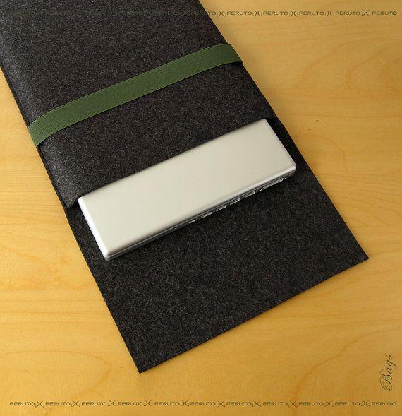 macbook pro sleeve macbook pro felt sleeve by FERUTOBags on Etsy