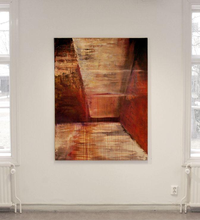 Angvert. Rust. Oil on canvas. 130 mm.