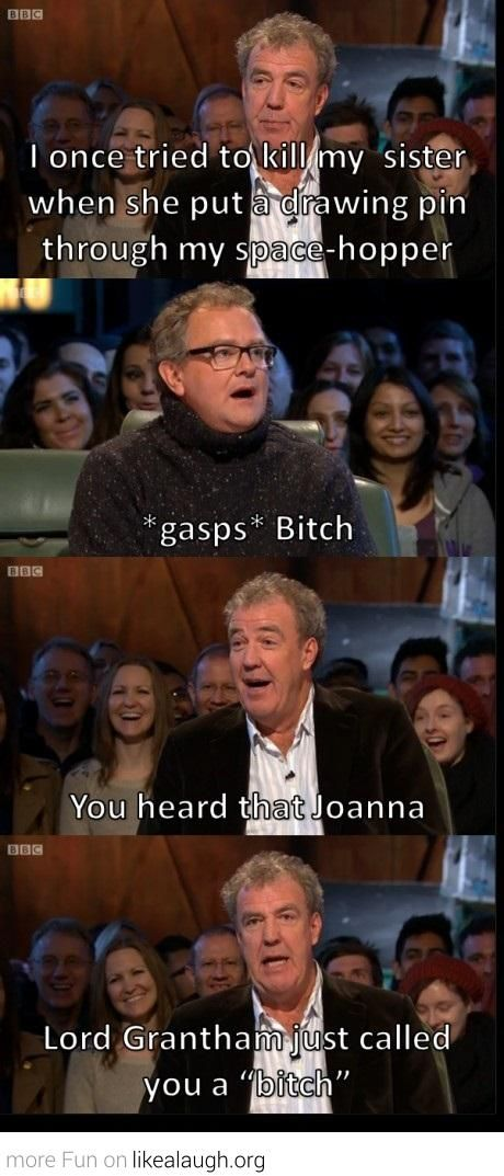 You heard that Joanna? #TopGear