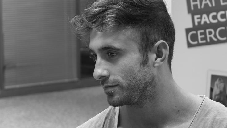 Paolo durante le selezioni degli 8 testimonial di #MyPugliaExperience.