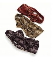 Head bands animal print