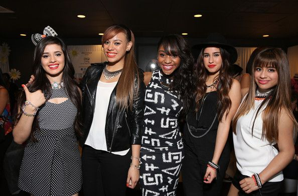 Fifth Harmony ~ Minnie Gifting Lounge At The 2013 Radio Disney Awards