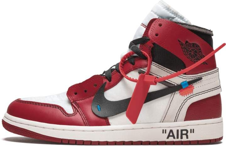 The 10 Air Jordan 1 Off White Chicago Aa3834 101 In 2020 Hype Shoes White Nike Shoes Air Jordans