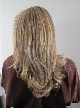 Golden Blonde Hair Color. ~pretty cut.
