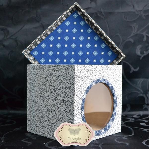 Caja de madera decorada ideal para regalar decorar cualquier rinc n de la casa y guardar lo - Cajitas de madera para decorar ...