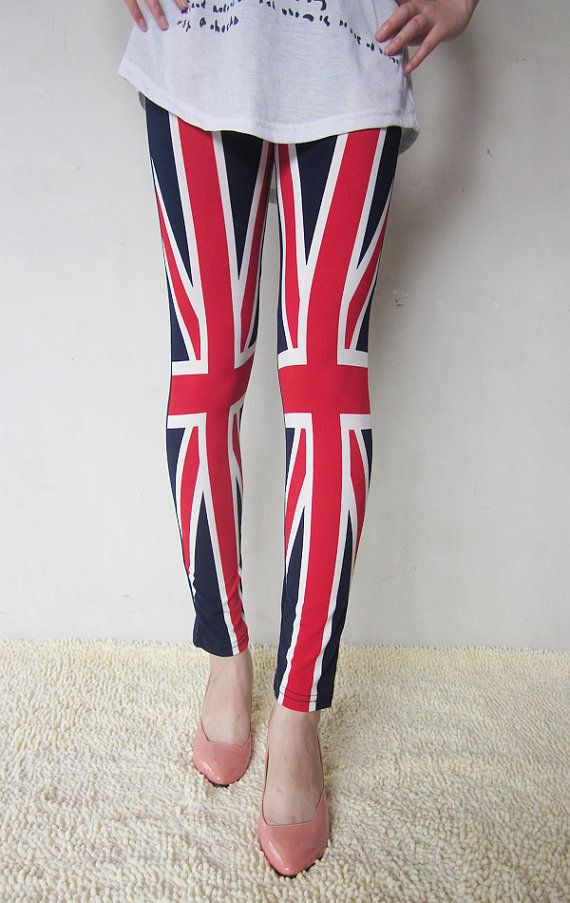 British flag leggings | UK flag Union Jack leggings on Wanelo