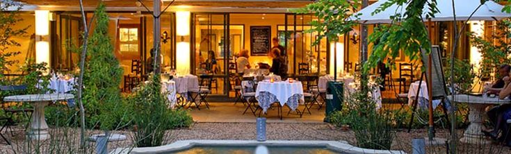 La Colombe restaurant. Hands down, one of THE best restaurants we've ever dined in. Constantia, South Africa