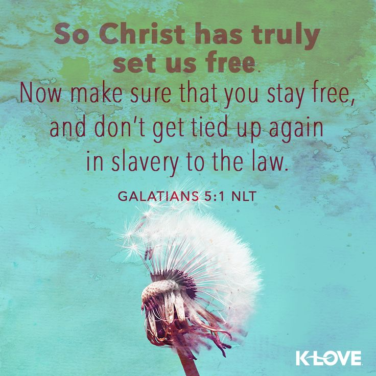 Galatians ESV Christ Has Set Us Free 5 For Freedom Stand Firm Therefore And Do Not Submit Again To A Yoke Of Slavery