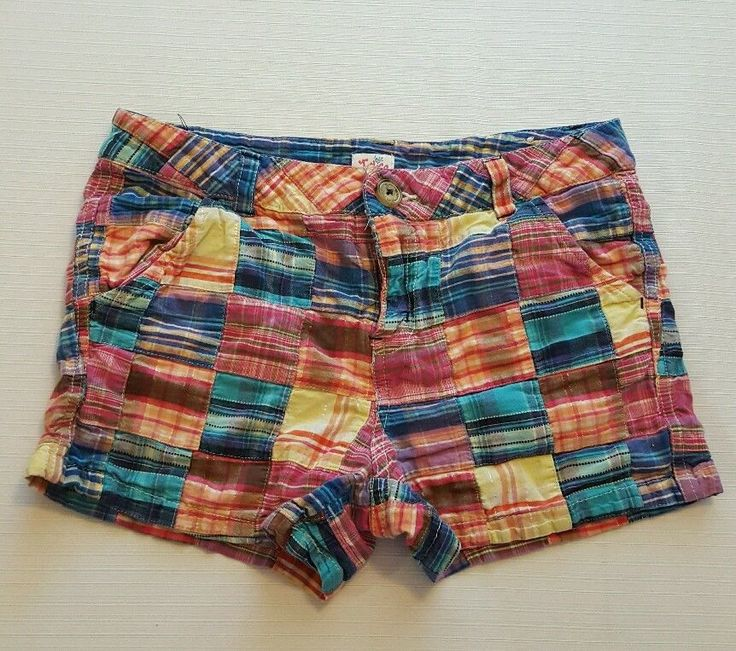 Justice Girls Multi-Color Plaid Shorts Size 14 Regular 100% Cotton #357 in Clothing, Shoes & Accessories, Kids' Clothing, Shoes & Accs, Girls' Clothing (Sizes 4 & Up) | eBay