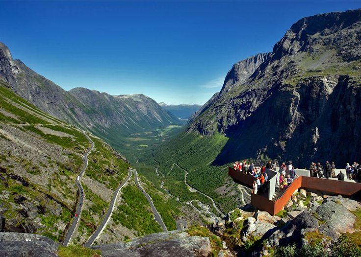 Beautiful View of Trollstigen   10 Top-Rated Tourist Attractions in Norway