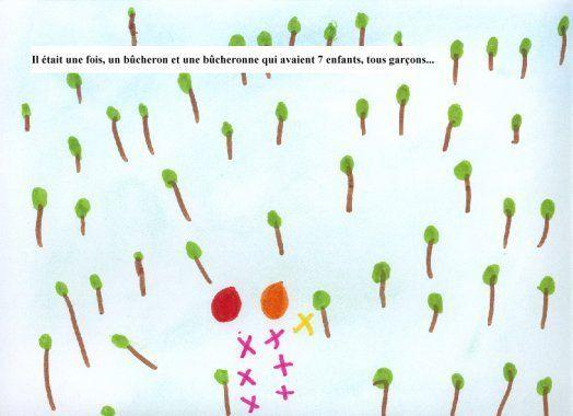 Album codé par des enfants