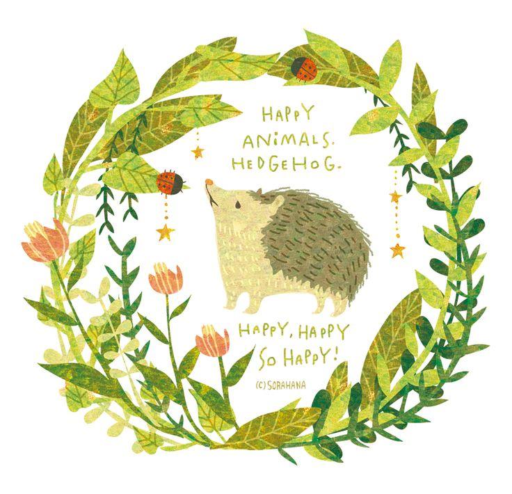 SORAHANA memo — HAPPY ANIMALS! By Megumi Inoue....