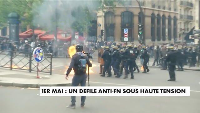 violences et affrontements à Paris – CNews Des heurts ont éclaté en marge de la manifestation parisienne du 1er mai. Bilan : six blessés dans les rangs de la police.Le ministre de l'Intérie... http://feedproxy.google.com/~r/itele/laune/~3/SQ6bWk0NPAk/1er-mai-de-violence-daffrontements-a-paris-175092