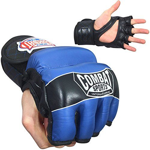 Combat Sports MMA Hybrid Fight Gloves (X-Large)