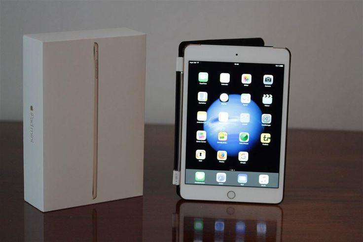 Apple iPad mini 4 (Wi-Fi/Cellular) 16GB Gold - Mycket gott skick +