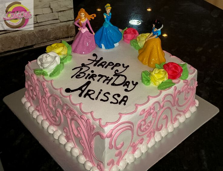 Princess Cake For Your Lovely Princess :-)