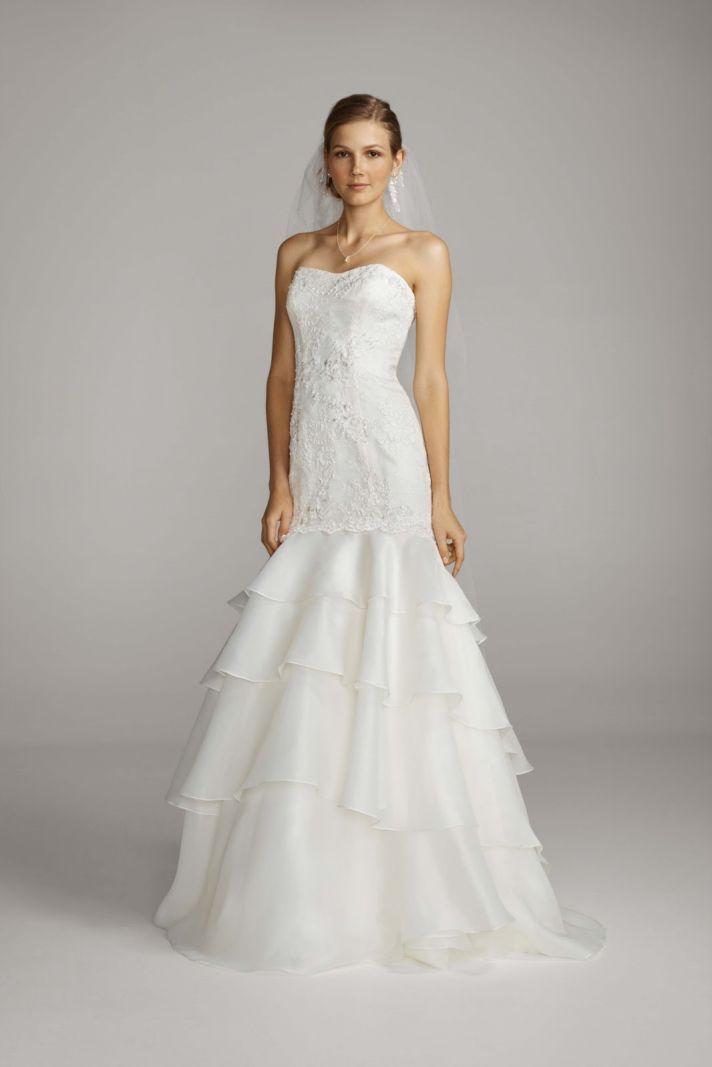 2013 Wedding Dress Melissa Sweet For Davids Bridal