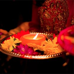 An emotional video of a mehndi ceremony at the cottage and an intimate Indian wedding at the Bride's home.